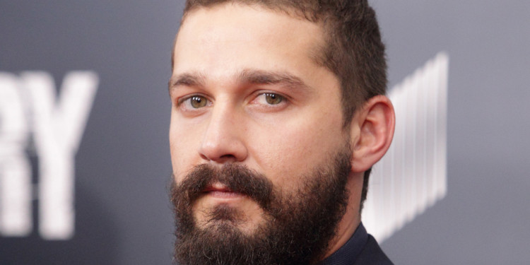 "Actor Shia LaBeouf arrives for the world premiere of ""Fury"" at the Newseum on Wednesday, Oct. 15, 2014, in Washington. (Photo by Owen Sweeney/Invision/AP)"